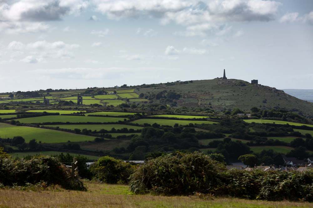 Carn Brea and Wheal Uny