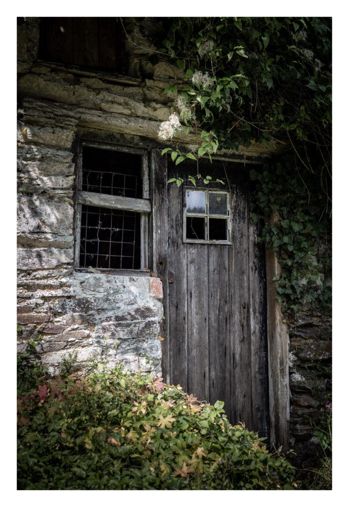 Old building and door
